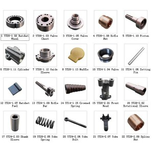 Newly Arrival High Air Pressure Dth Hammer -